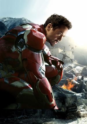 Iron Man Robert Downey Jr Süper Kahramanlar Kanvas Tablo