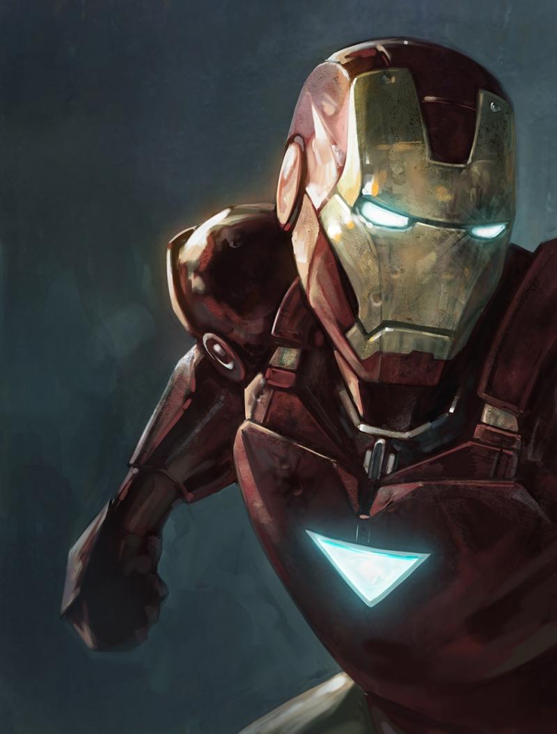 Iron Man Sinema Kanvas Tablo