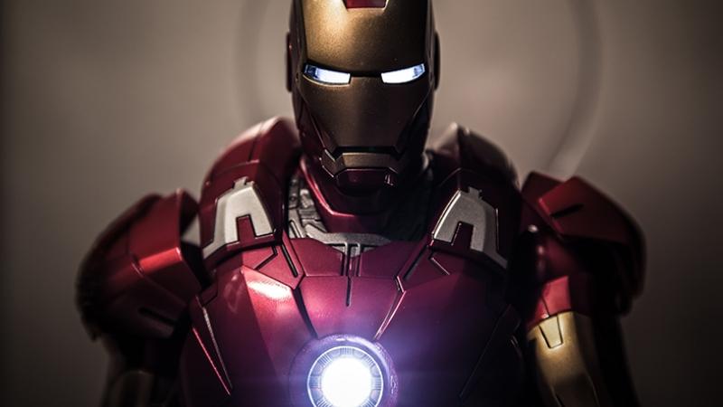 Iron Man Süper Kahramanlar Kanvas Tablo