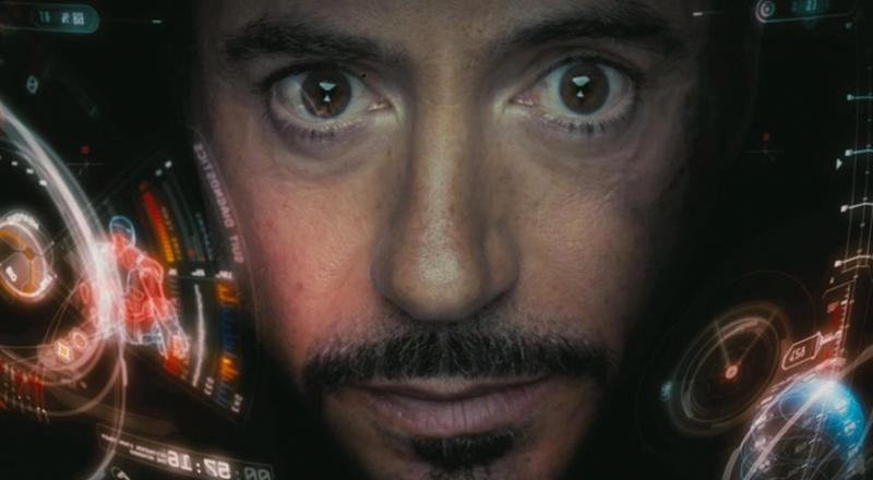 İron Man Tony Stark Popüler Kültür Kanvas Tablo