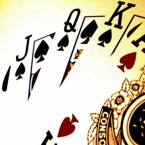 İskambil Poker Kağıtları-2 Fotoğraf Dijital Fantastik Kanvas Tablo