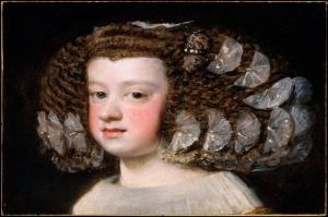 İspanyol Prensesi Maria Terasa, Diego De Velazquez Klasik Sanat Kanvas Tablo