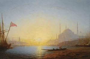 İstanbul-1856, Ivan Aivazovsky, Klasik Sanat Kanvas Tablo