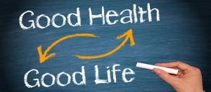 İyi Sağlık İyi Yaşam Retro & Motto Kanvas Tablo