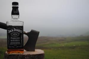 Jack Daniels Whiskey Fotoğraf Kanvas Tablo