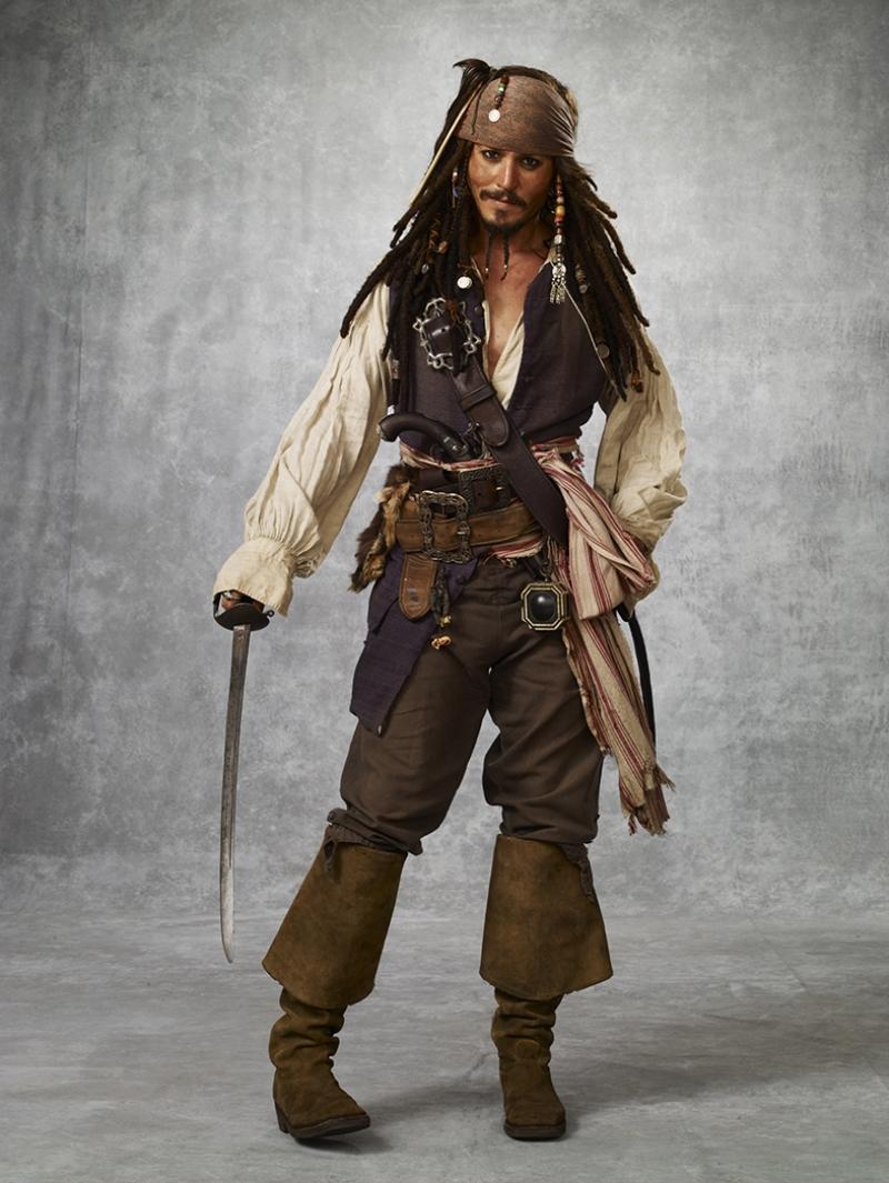 Jack Sparrow Karayip Korsanları 2 Kanvas Tablo