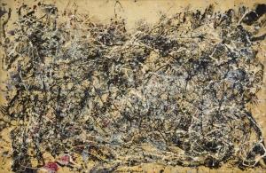 Jackson Pollock Özgür Tasarım 1948 Yağlı Boya Klasik Sanat Canvas Tablo