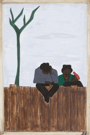 Jacob Lawrence Tartişan İnsanlar Boya Klasik Sanat Canvas Tablo