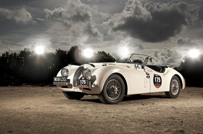 Jaguar 3 Klasik Otomobiller Eski Klasik Arabalar Poster Araclar Kanvas Tablo