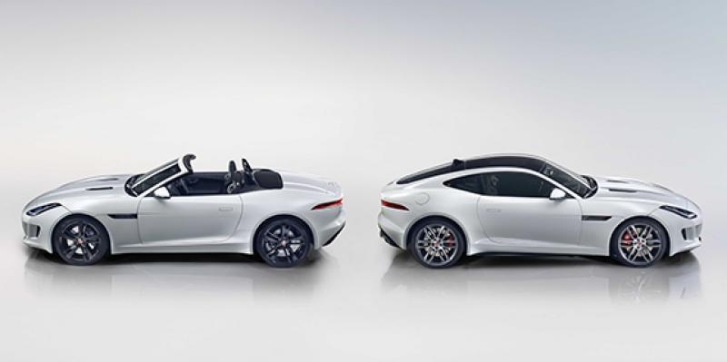 Jaguar Beyaz Spor Otomobil Kanvas Tablo