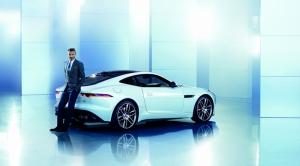 Jaguar ve David Beckham Araçlar Kanvas Tablo