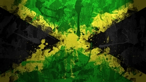 Jamaika Bayrak Kanvas Tablo