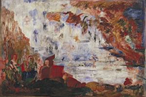 James Ensor Saint Anthonynin Sikintilari Yagli Boya Klasik Sanat Kanvas Tablo
