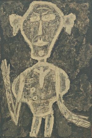 Jean Dubuffet Henri Michaux Abstract Yagli Boya Klasik Sanat Kanvas Tablo