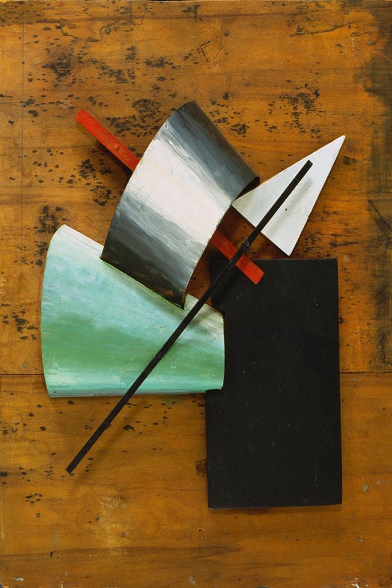 Jean Pougny Heykel Abstract Yagli Boya Klasik Sanat Kanvas Tablo