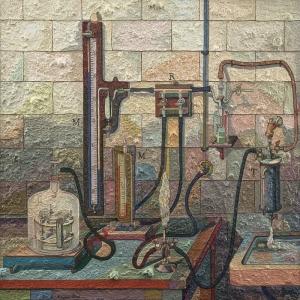 Jess Deney Yagli Boya Klasik Sanat Kanvas Tablo