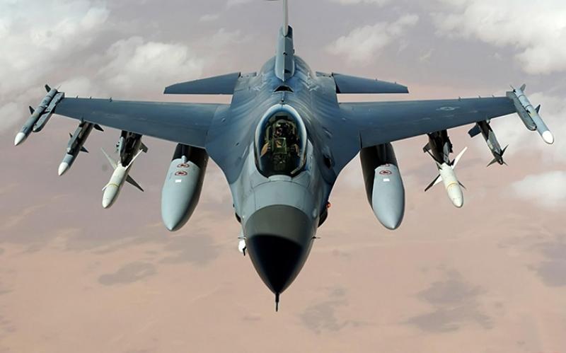 Jet Savaş Uçak Gri Kanvas Tablo