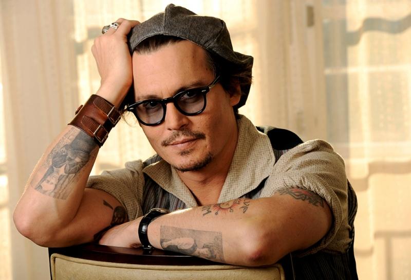 Jhonny Depp Ünlü Yüzler Kanvas Tablo