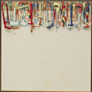 Jim Dine Bes Adim Yagli Boya Klasik Sanat Kanvas Tablo