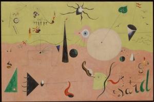 Joan Miro Avci Yagli Boya Klasik Sanat Kanvas Tablo