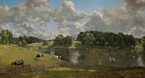 John Constable Wivenhoe Park Essex Yağlı Boya Sanat Kanvas Tablo