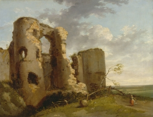 John Hamilton Mortimer Pevensey Kalesi Klasik Sanat Kanvas Tablo