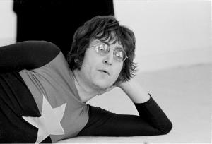 John Lennon Ünlü Yüzler Kanvas Tablo 2