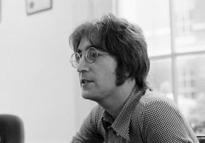 John Lennon Ünlü Yüzler Kanvas Tablo 3