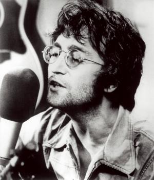 John Lennon Ünlü Yüzler Kanvas Tablo 4
