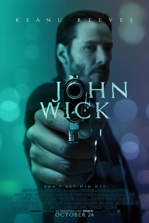 John Wick Film Afişi Sinema Kanvas Tablo