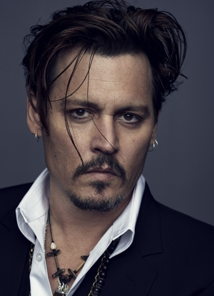 Johnny Deep Ünlü Yüzler Kanvas Tablo