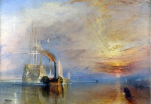Joseph Mallord William Turner Yelkenli Sahil Manzarası Klasik Sanat Kanvas Tablo