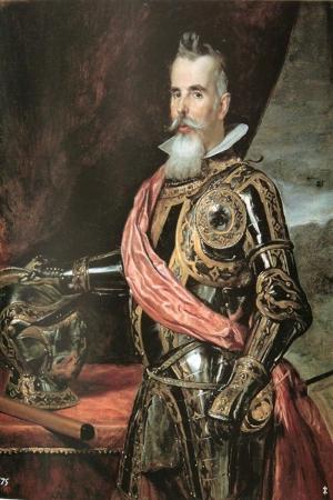 Juan Francisco de Pimentel-10- Benavente Kontu, Diego de Velazquez Klasik Sanat Kanvas Tablo