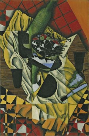 Juan Gris Uzumler Yagli Boya Klasik Sant Kanvas Tablo