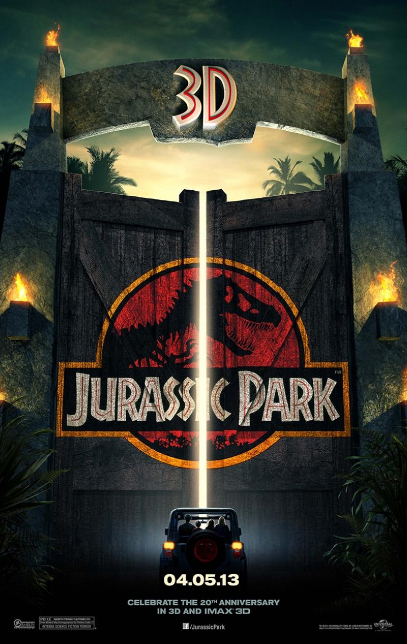 Jurassic Park Afiş Kanvas Tablo