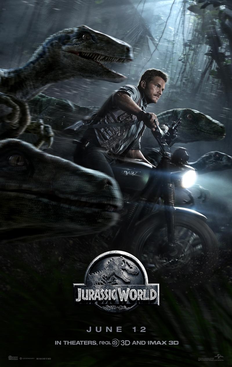 Jurassic World Afiş Kanvas Tablo