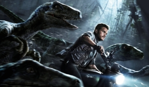 Jurrasic World Sinema Kanvas Tablo