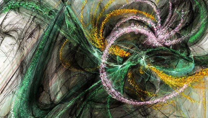 Kader Abstract Soyut Yağlı Boya Sanat Kanvas Tablo