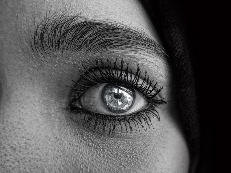 Kadın 2 Siyah Beyaz Fotoğraf Kanvas Tablo
