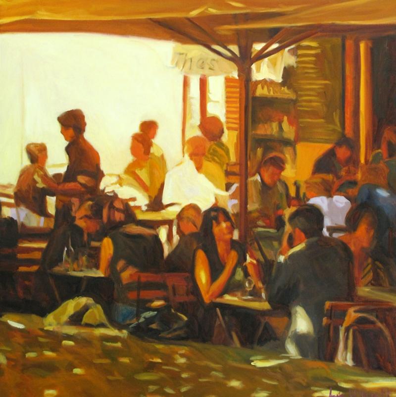 Kafe 8 Dekoratif Kanvas Tablo