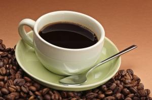 Kahve Cekirdekleri Ve Bir Fincan Kahve 1 Lezzetler Kanvas Tablo