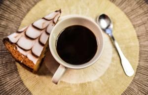 Kahve ve Tatlı 2 Lezzetler Kanvas Tablo