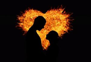Kalp ve Aşk Popüler Kültür Kanvas Tablo