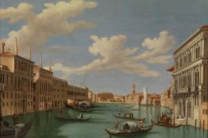 Kanala Giriş San Marco Venedik İtalya Deniz Şehir Manzaralari 1 Sanat Kanvas Tablo