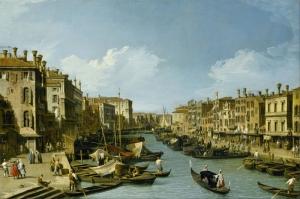 Kanala Giriş San Marco Venedik İtalya Deniz Şehir Manzaralari 4 Sanat Kanvas Tablo