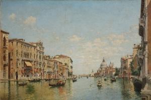Kanala Giriş San Marco Venedik İtalya Deniz Şehir Manzaralari 6 Sanat Kanvas Tablo