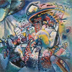 Kandinsky Gug Soyut Abstract Sanat Kanvas Tablo