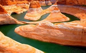 Kanyon Kayalar Doğa Manzaraları Kanvas Tablo
