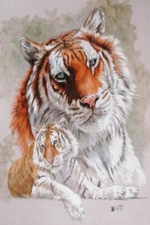 Kaplan, Sumatra Kaplanı, Vahşi Hayvanlar Dekoratif Kanvas Tablo