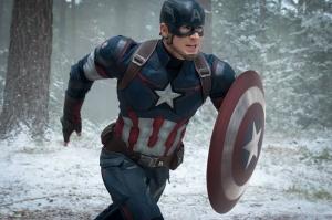 Kaptan Amerika Kış Askeri Marvel Süper Kahramanlar Kanvas Tablo